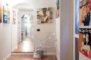 Room Q – Via della Moscova 27 – Structure entrance