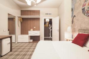 Camera L Junior Suite con Terrazza - dettagli ingresso