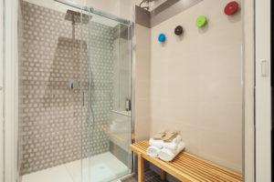 Camera L Junior Suite con Terrazza - dettagli zona doccia