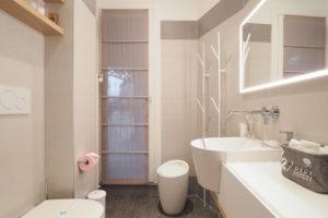 Camera L Junior Suite con Terrazza - dettagli bagno