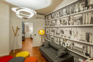 Moscova 29 – Living area overlooking Camera R
