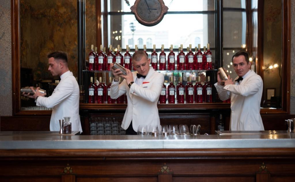 Camparino in Galleria, interni e cocktail